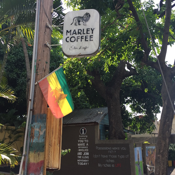 Visiting Bob Marley's house wasn't on my List. But you ...
